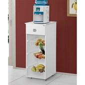 Balcão Fruteira Monalisa Multiuso 2 Portas Branco para Cozinha Área de Serviço - AJL Móveis