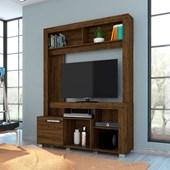 Estante Flávia com Portas Deslizantes para TV de até 42 Polegadas Sala de Estar Savana Fosco - Madetec