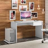 Mesa De Escritório Luce 19004 Office Branco Estudos Escrivaninha para Consultório Sala Quarto Consultório - AM Decor