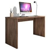 Mesa De Escritório Parati 40721 Office Avelã Estudos Escrivaninha para Consultório Sala Quarto Consultório - AM Decor