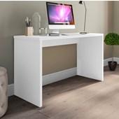 Mesa De Escritório Parati 40721 Office Branco Estudos Escrivaninha para Consultório Sala Quarto Consultório - AM Decor