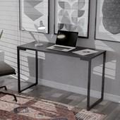 Mesa Escrivaninha Adele 90cm Para Escritório e Home Office Industrial Preto - Amarena