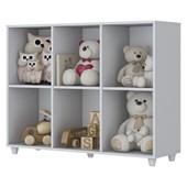 Organizador Aquarela de Brinquedos para Quarto de Bebê Dormitório Infantil Branco - Henn