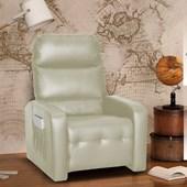 Sofá Cadeira Poltrona do Papai Reclinavél Siena Corano Bege Sala de Estar Recepção Escritório - Matrix